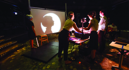 Manual Cinema reveals their shadow puppetry process in Theater West